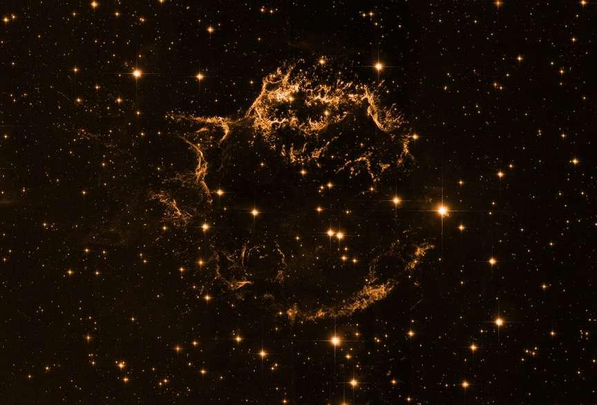 Cassiopée A dans le visible. © Nasa/STSc