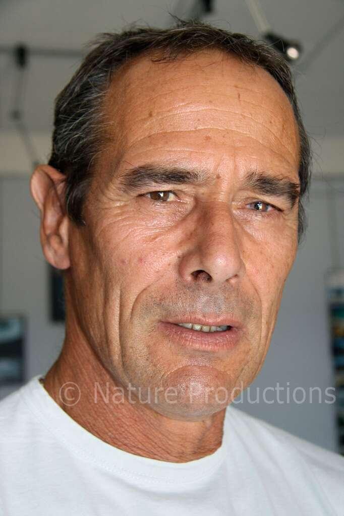 Nicolas Gérardin est rattaché au parc national de Port-Cros depuis trois décennies. © Nicolas Gérardin, DR