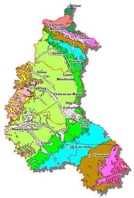 Carte géologique - Cliquez pour agrandir