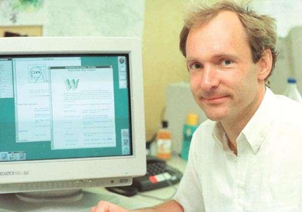 En 1989, Tim Berners-Lee, un informaticien au Cern, a proposé un projet appelé le World Wide Web. © Cern
