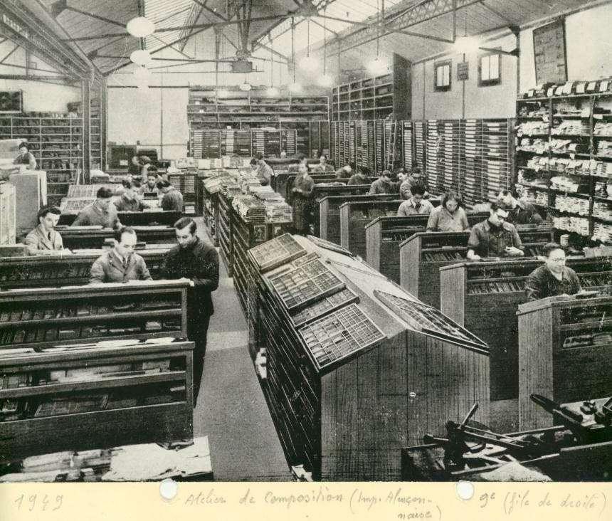 À la découverte du plomb, composant des caractères d'imprimerie. © Domaine public