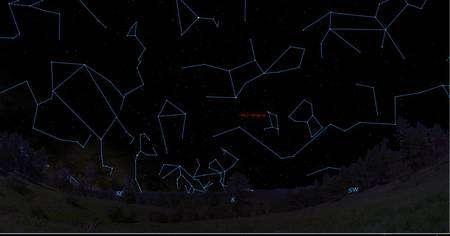 Cliquer sur l'image pour l'agrandir. La localisation de HD 1461 sur la voûte céleste. Crédit : Steve Vogt, UCSC