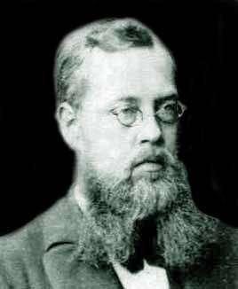 Le mathématicien Sophus Lie.