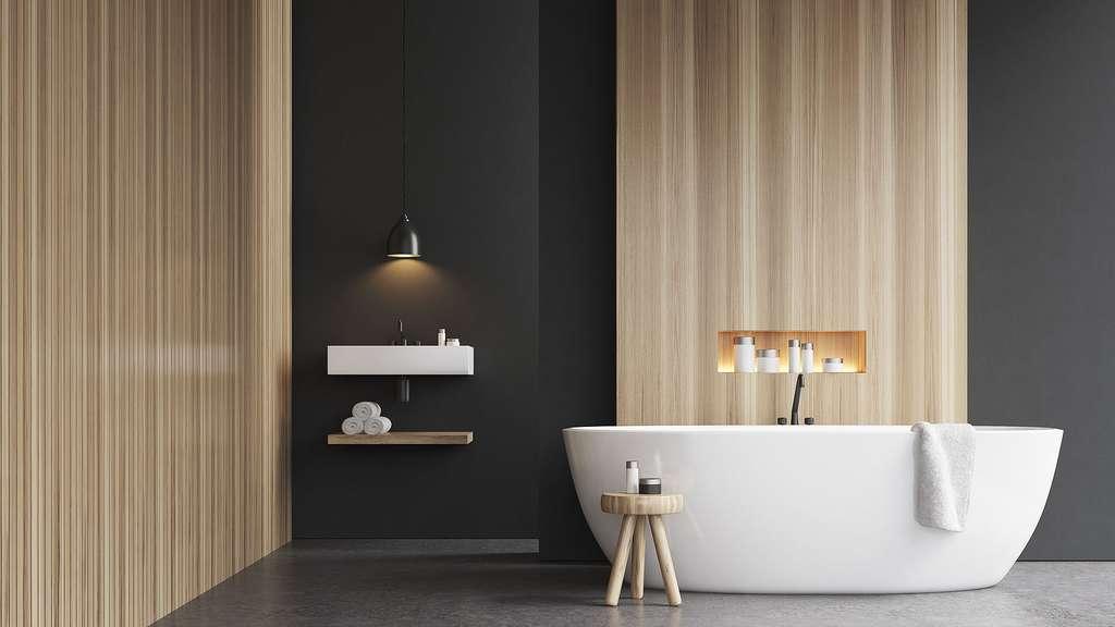 Photo | Une salle de bain au style épuré