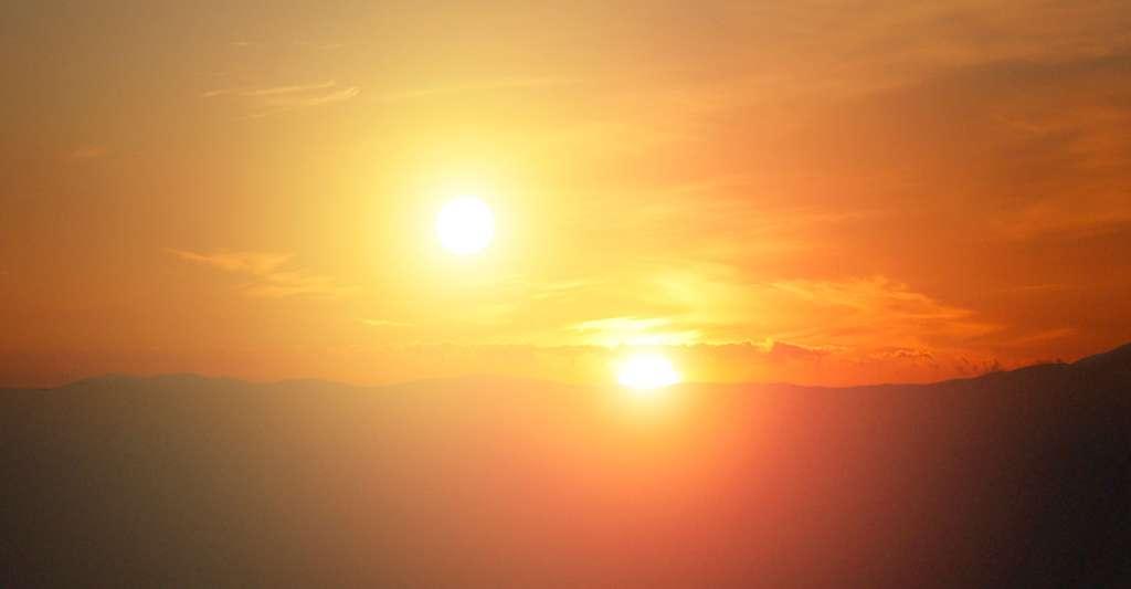 Les deux soleils de Tatooine. © Nasa/JPL-Caltech, Wikimedia commons, DP