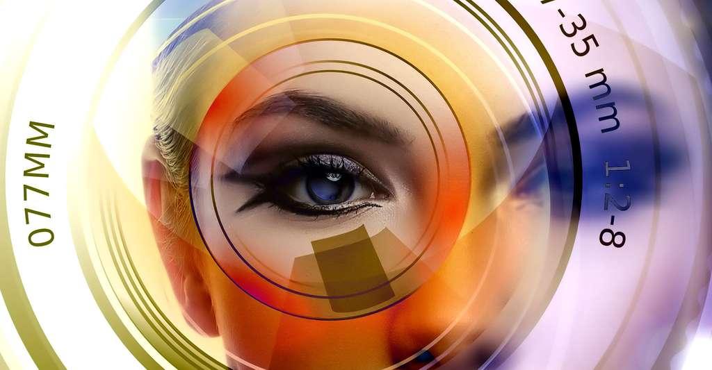 Le cristallin de l'œil. © Geralt, Pixabay, DP