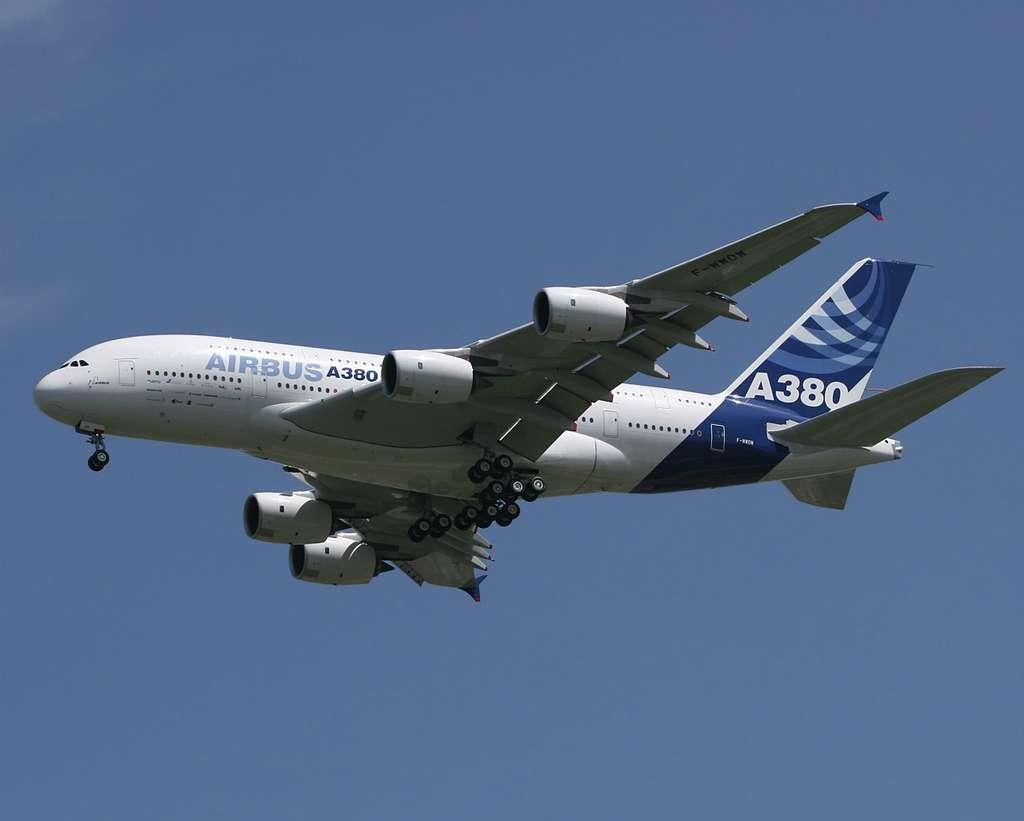 A380 en plein vol