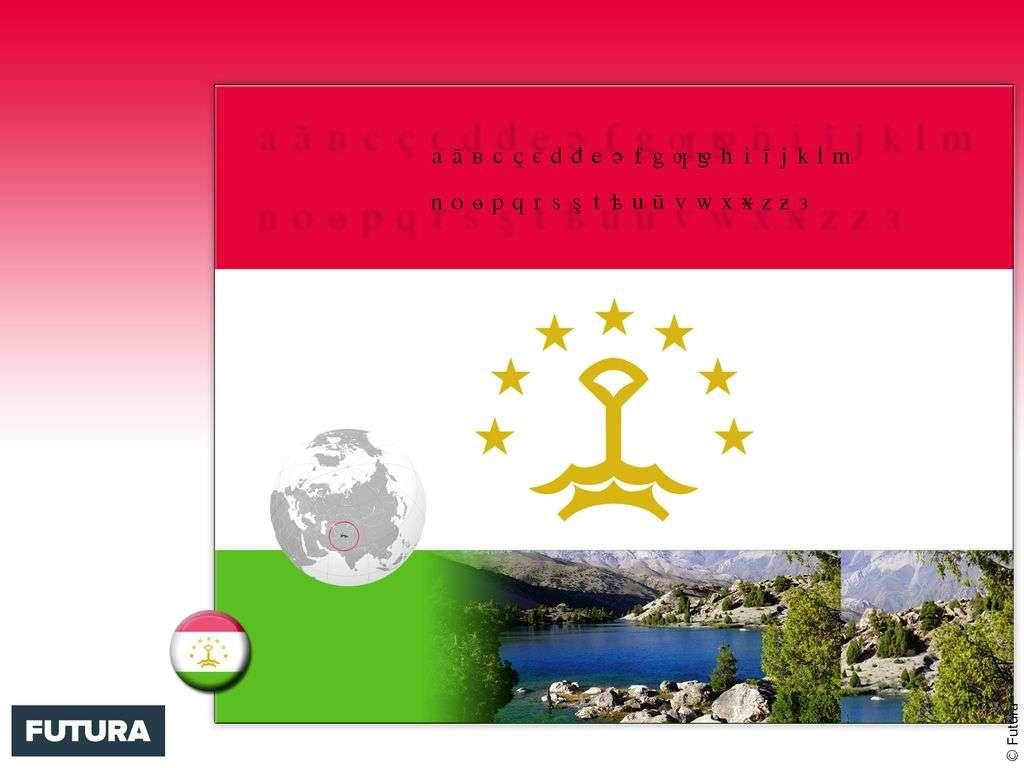 Drapeau : Tadjikistan