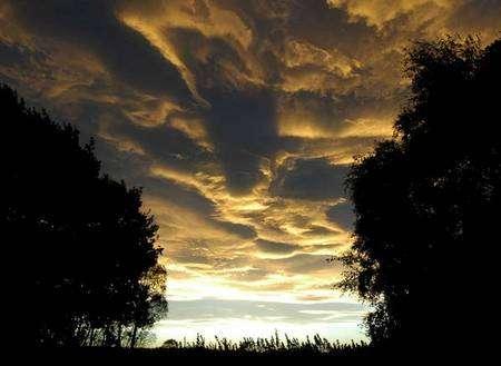 Plaines de Canterbury, Alpes-du-Sud, Nouvelle-Zélande. Source : Cloud Appreciation Society / Laurie Richards. Cliquer pour agrandir.