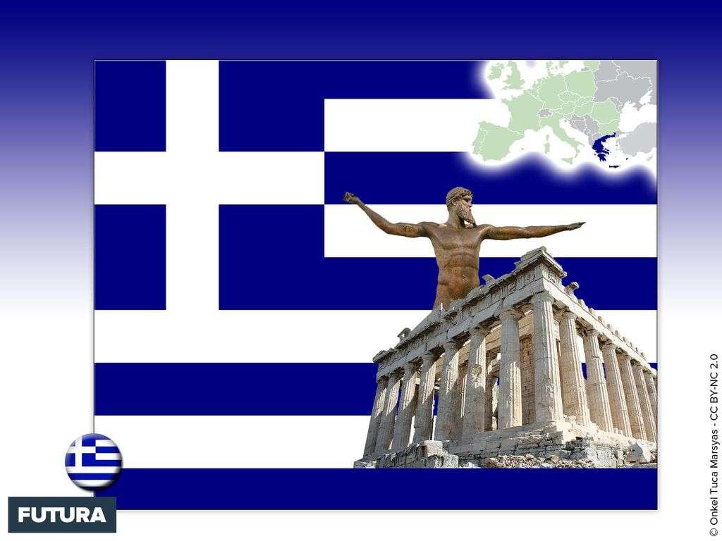 Drapeau : Grèce