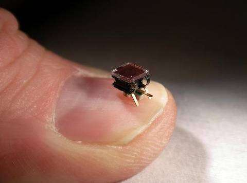Les robots deviennent miniatures ! © hizook.com