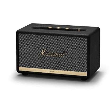 Bien que l'Acton Voice II soit la plus petite enceinte Marshall, elle offre un son exceptionnel. © Marshall