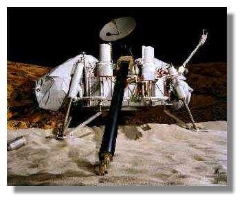 Viking Lancer. Les engins sur Mars se suivent pour trouver des traces de vie. Le dernier en date est le rover Curiosity, qui a atterri en août 2012 sur la Planète rouge. © Nasa