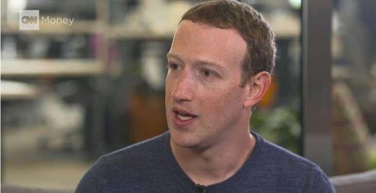 Mark Zuckerberg, le PDG de Facebook, a répondu aux questions de CNN à propos du scandale Cambridge Analytica. © CNN