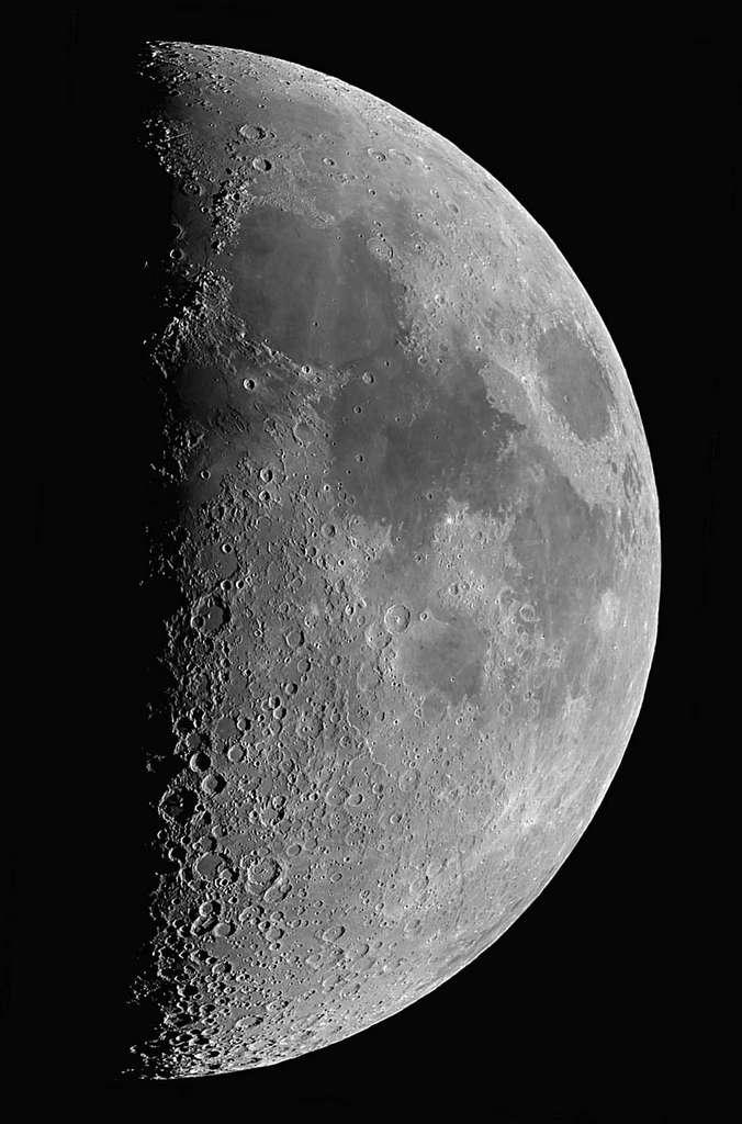 Lune - Mosaïque