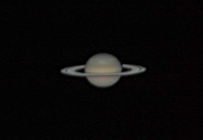 Saturne le 25 avril. © J. Blanchard