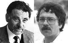 K. Alex Muller et J. Georg Bednorz d'IBM Zurich ont fait la découverte des supraconducteurs à haute température en céramique, ce qui leur a valu le prix Nobel de physique 1987. Crédit : Warwick University