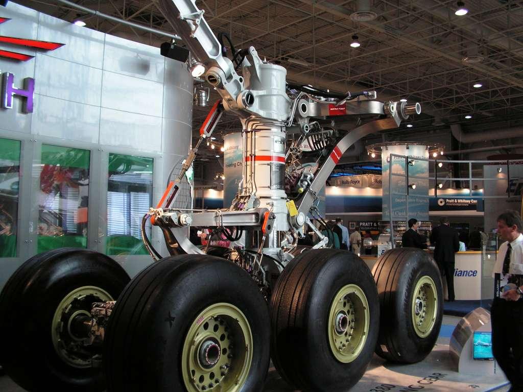 A-380 : Banc test du train d'atterrissage