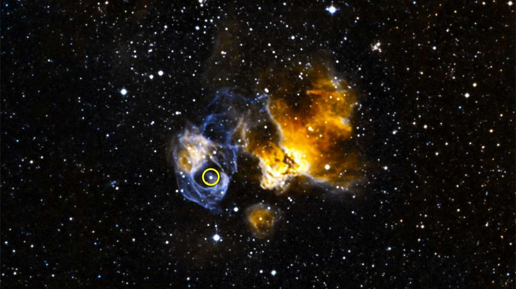 Les sursauts gamma détruisent la couche d'ozone, annihilant toute vie sur Terre. © Nasa
