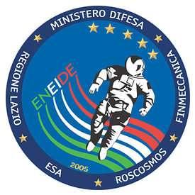 Le logo de la mission Eneide