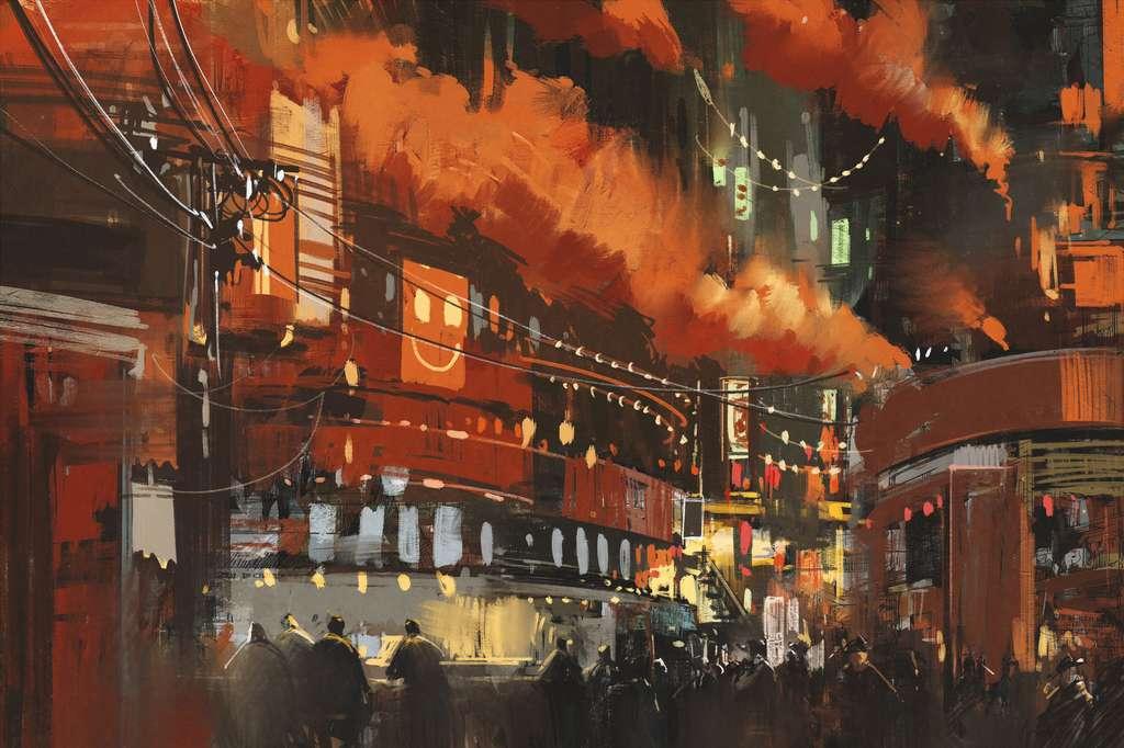 Surpopulation, étouffement de l'individu, tels sont les maîtres mots des villes terriennes. © grandfailure, Fotolia