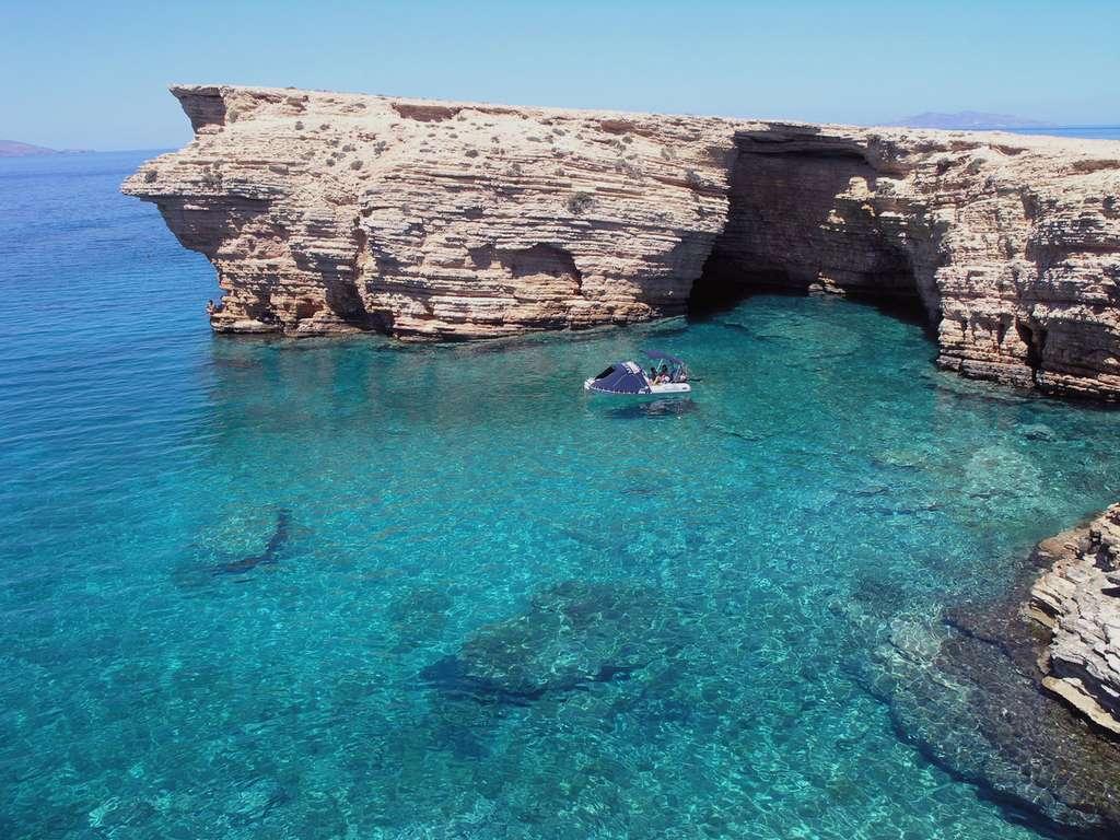 Koufonissia au sud-est de Naxos, dans les Cyclades, en Grèce. © Haviaras, cc by nc 3.0