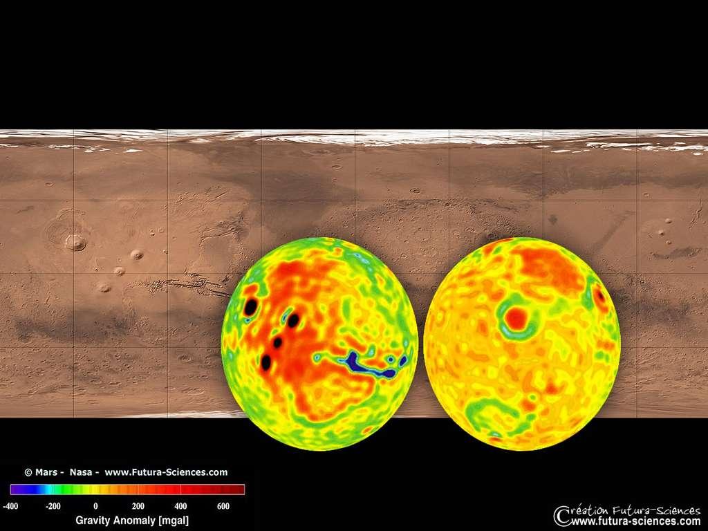 Gravité sur Mars