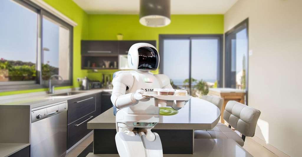 Le robot Asimov qui fait tout à la maison. © Catwalker/Iuliia Bondarenko, Shutterstock