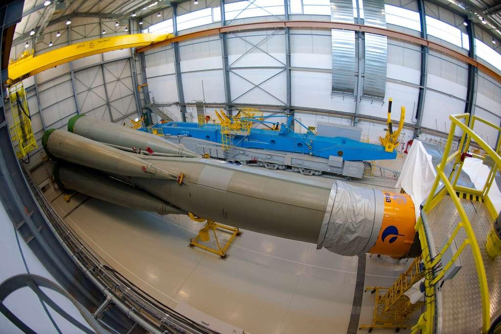 Premier lanceur Soyuz ST tiré depuis la Guyane