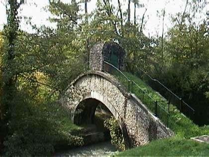 Un siphon de l'aqueduc