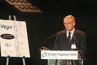 Antonio Fabrizi, Directeur des Lanceurs de l'ESA