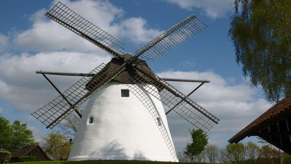 Le moulin à vent de Reken, Allemagne