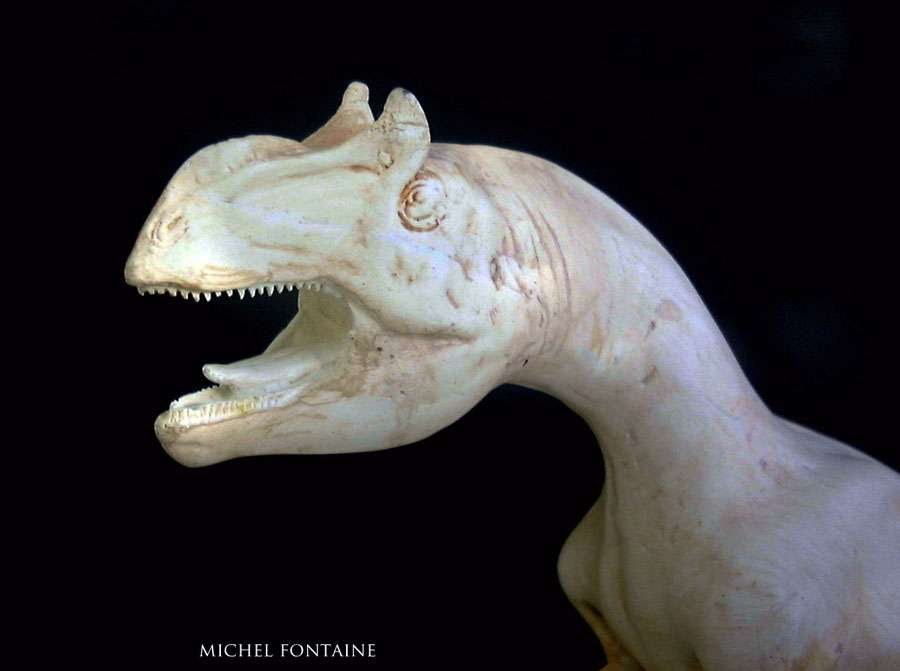 Allosaurus tête