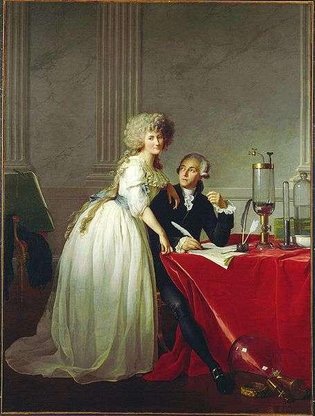Portrait de Monsieur de Lavoisier et sa femme. © Jacques-Louis David, DP