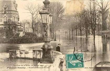 Paris en 1910.