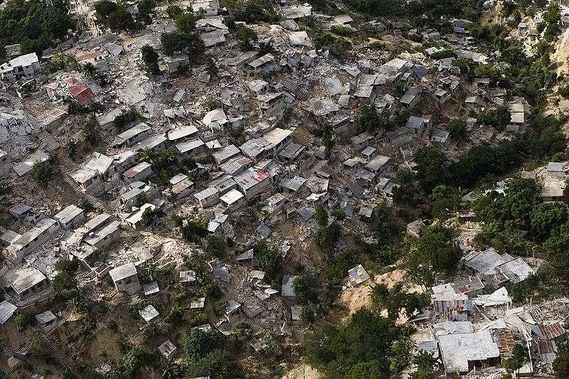 Le séisme de 2010 en Haïti a causé la mort de plus de 230.000 personnes. © Logan Abassi, CC by 2.0