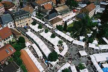 Sainte-Marie-aux-Mines, bourse aux minéraux.