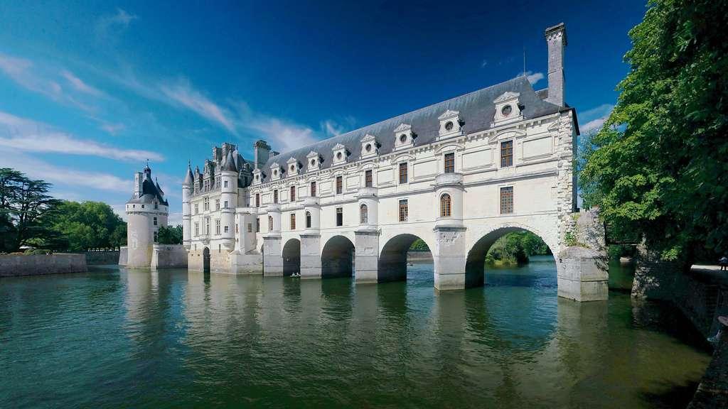 Le château de Chenonceau, un des châteaux de la Loire