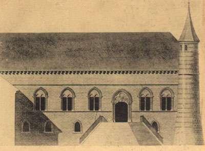 Troyes - façade du Palais AF Arnaud 1837