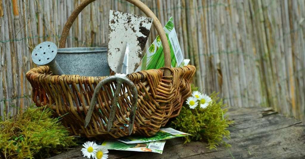 Les outils pour bien entretenir votre jardin. © Congerdesign, Pixabay, DP