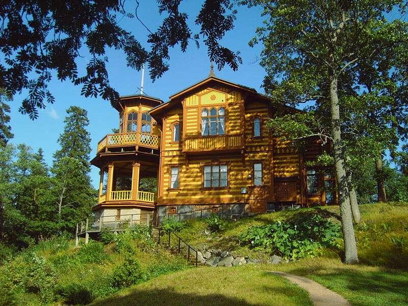La villa Aino Ackté, à Helsinki, en Finlande