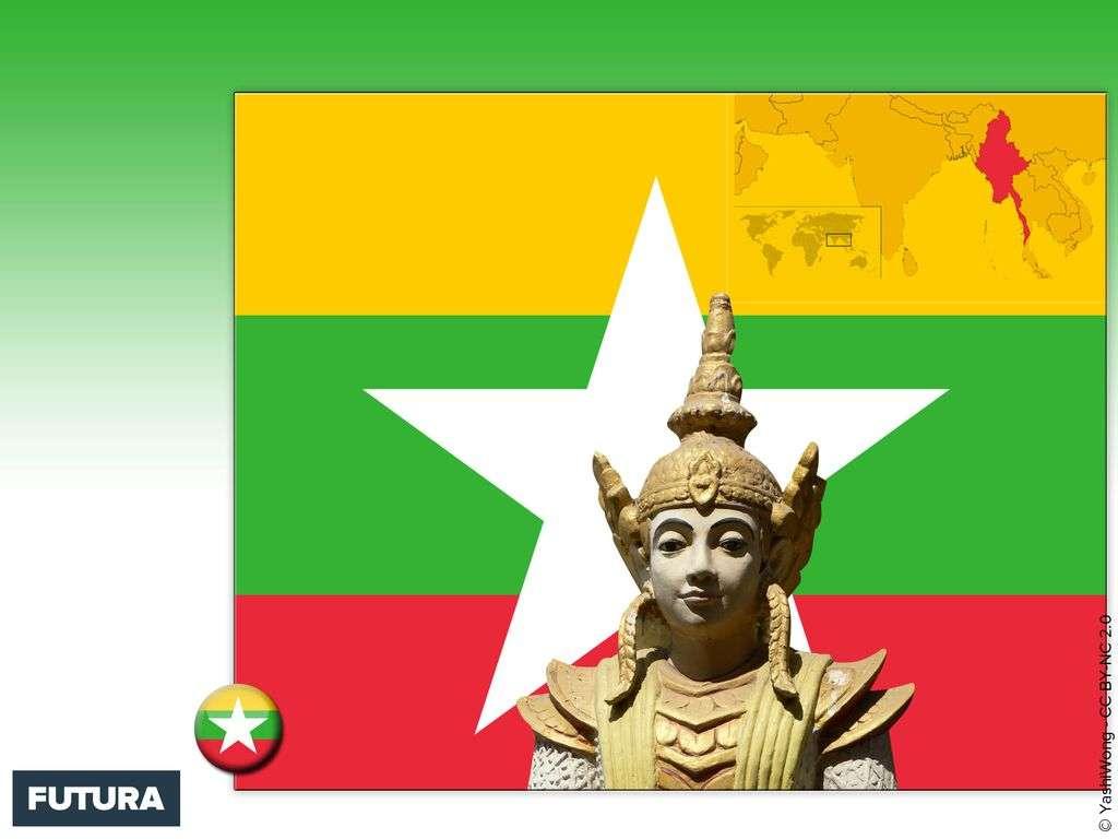 Drapeau : Birmanie