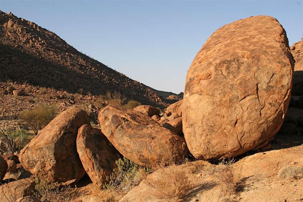 Un paysage du Brandberg, dans l'ouest de la Namibie. © Martha de Jong-Lantink, Flickr, CC by-nc-nd 2.0
