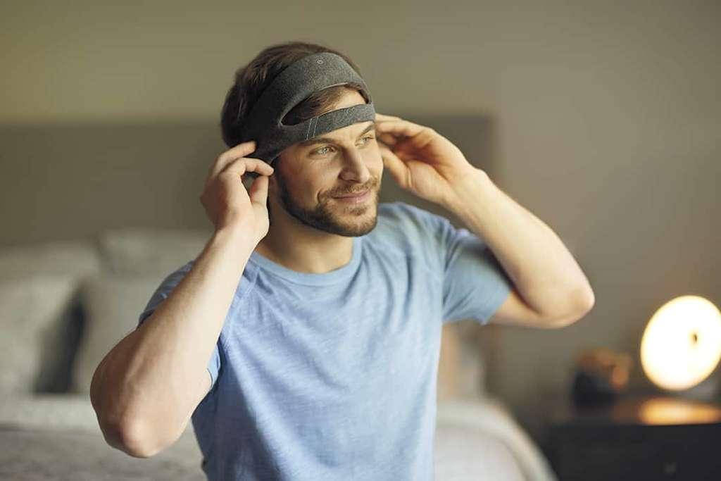 Le SmartSleep de Philips détecte et analyse votre activité cérébrale. © Philips