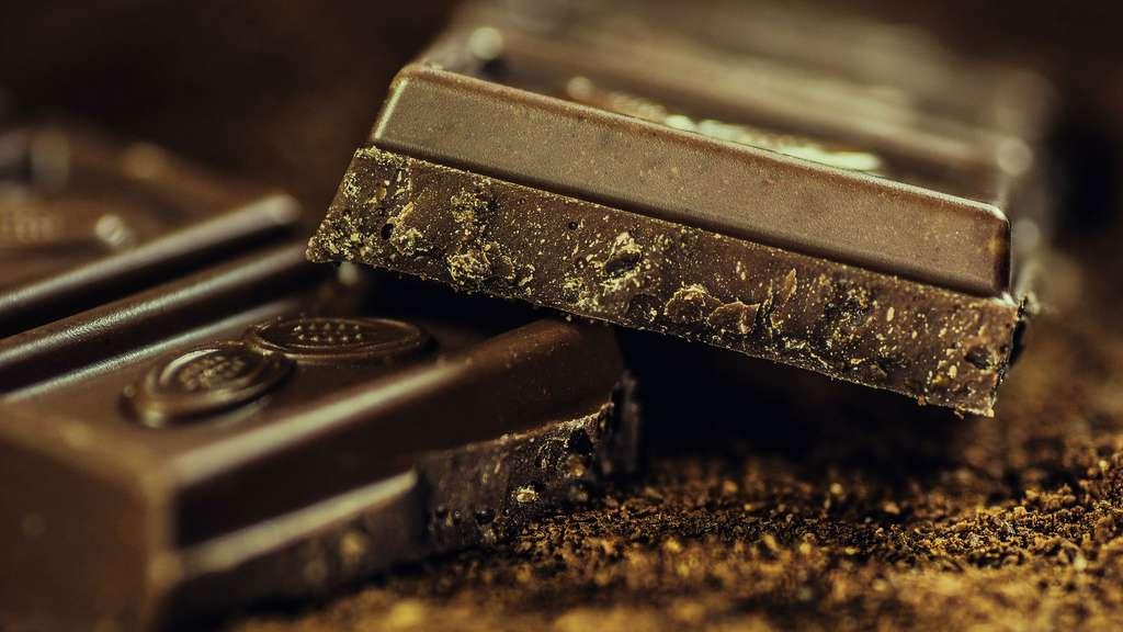 Comment se porte le marché du cacao ? Qu'en est-il de la production ? Ici, chocolat avec des pépites d'or. © Alexander Stein, DP