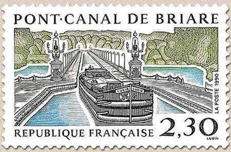 Le timbre du pont canal