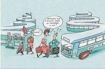Le paradoxe de l'hôtel de Hilbert montre pourquoi des ensembles infinis ont longtemps paru absurdes. © Belin