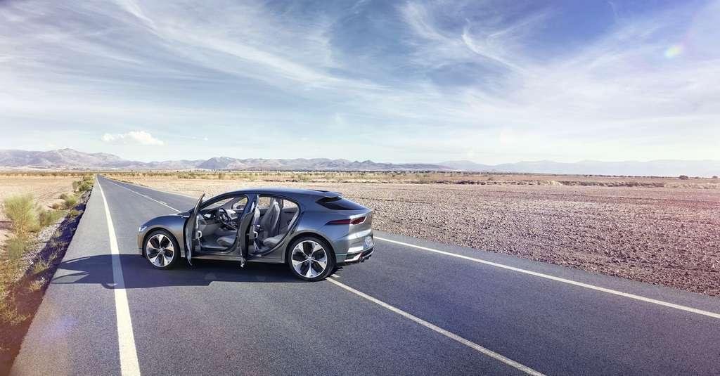 La Jaguar I-Pace se positionne sur le créneau des SUV. © Jaguar