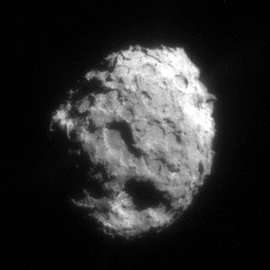 Le noyaux de Wild2, crédits NASA. Cliquez ici pour agrandir