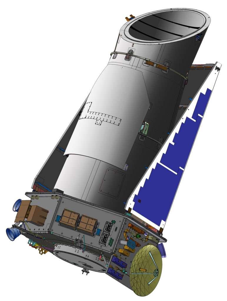 Le satellite Kepler. © Nasa